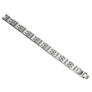 Caseti Rayner Black Quad Crystal Bracelet