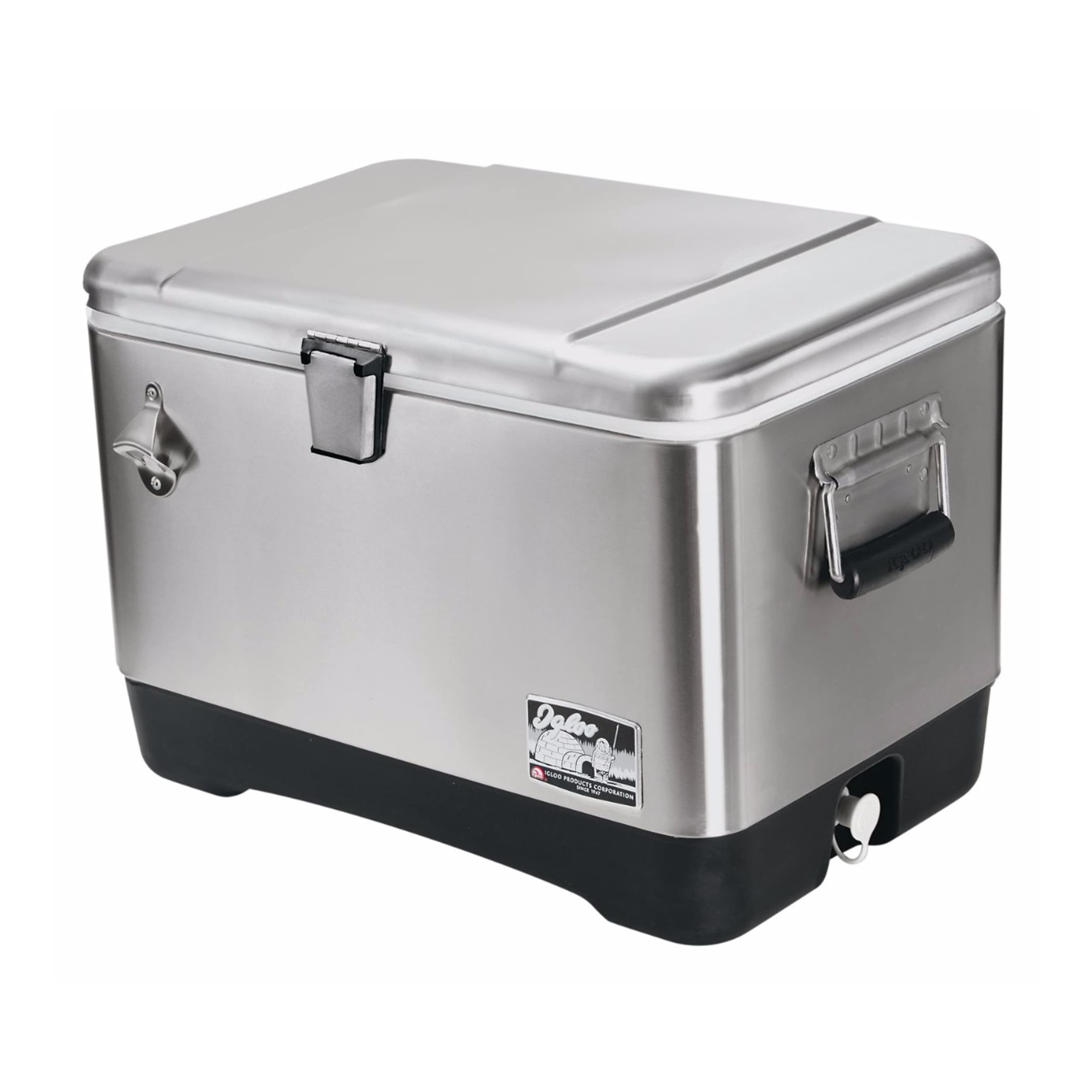 Igloo Stainless Steel (Silver) 54 Cooler