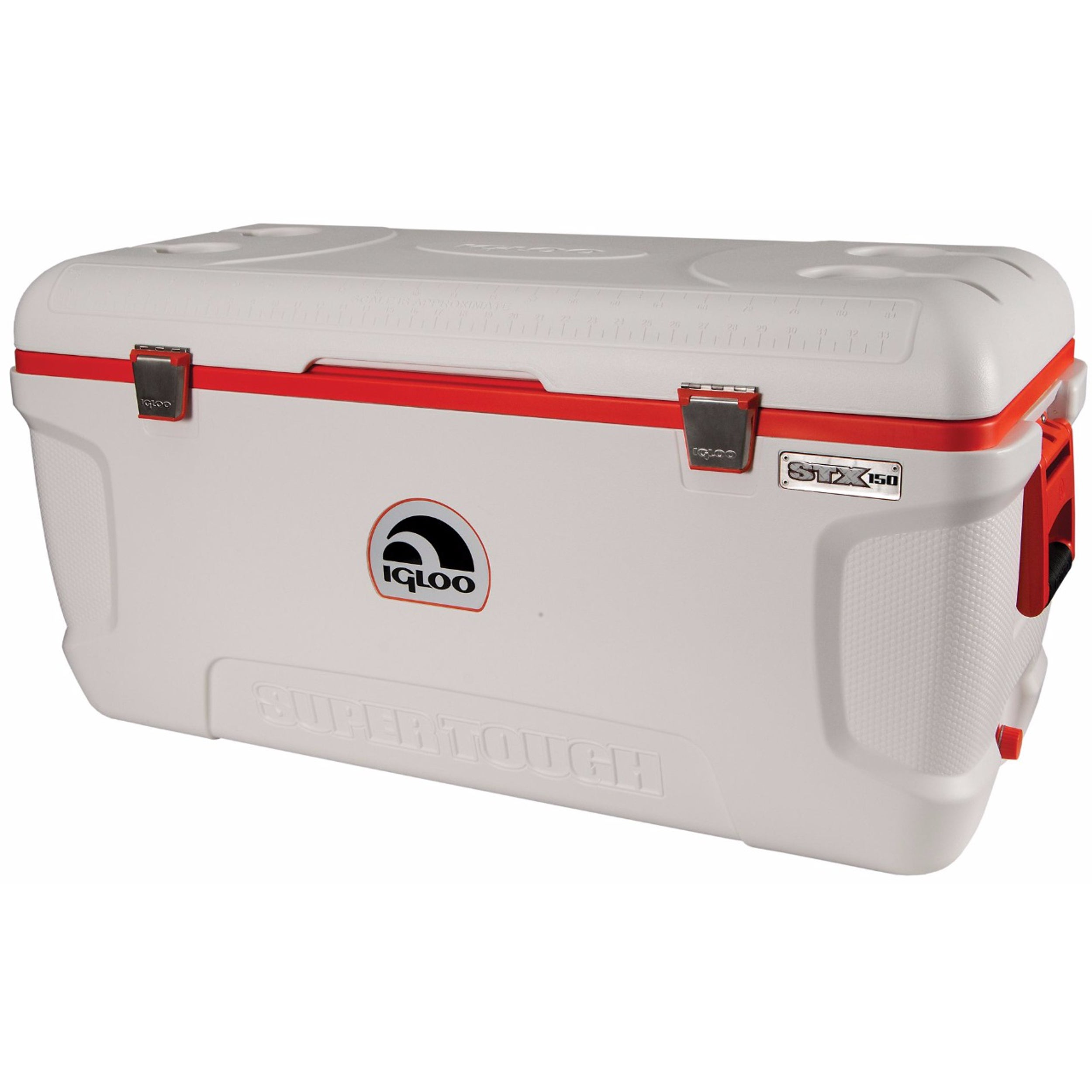 Igloo Super Tough STX 150 Cooler, Silver stainless steel