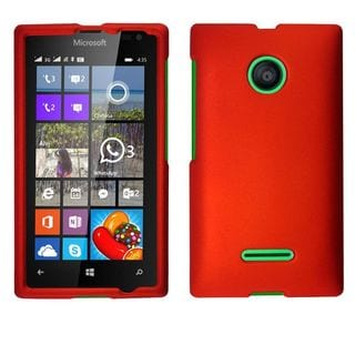 Insten Slim Hard Snap-on Rubberized Matte Phone Case Cover For Microsoft Lumia 435