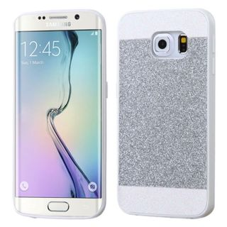 Insten Slim Hard Snap-on Glitter Phone Case Cover For Samsung Galaxy S6 Edge