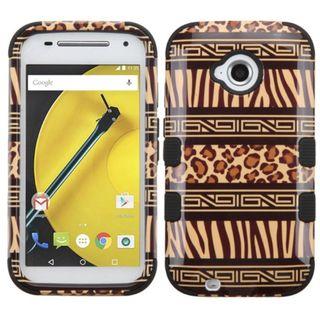 Insten Tuff Hard PC/ Soft Silicone Dual Layer Hybrid Rubberized Matte Phone Case Cover For Motorola Moto E 2nd Gen