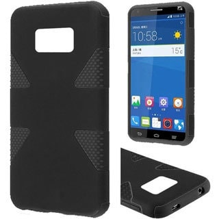 Insten Dynamic Hard PC/ Soft Silicone Dual Layer Hybrid Rubberized Matte Phone Case Cover For ZTE Paragon/ Sonata 4G/ Zephyr