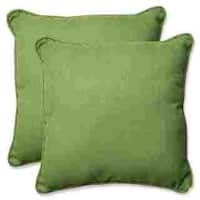 Pillow Perfect Outdoor/ Indoor Rave Lawn 18.5-inch Throw Pillow (Set of 2)