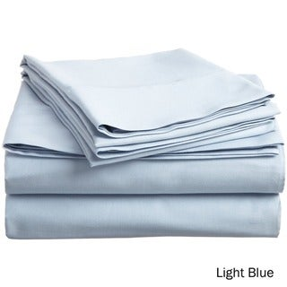 Superior 300 Thread Count Deep Pocket Cotton Sateen Sheet Set