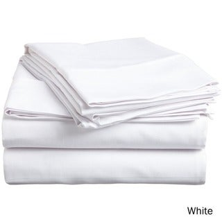 Superior 300 Thread Count Premium Long-staple Combed Cotton Solid Sheet Set