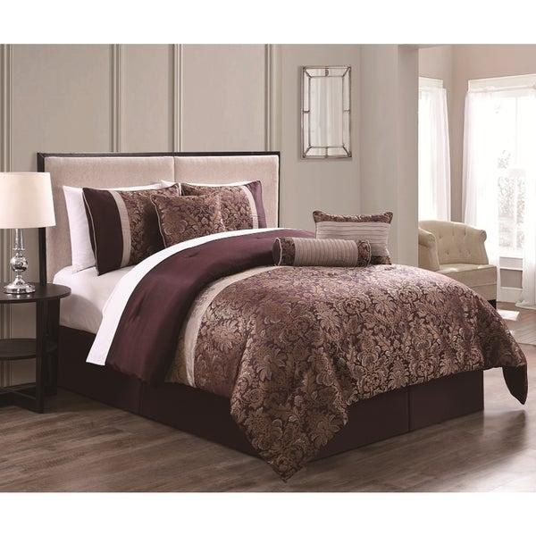 milano 7piece comforter set