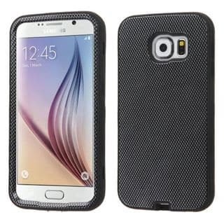 Insten Verge Hard PC/ Soft Silicone Dual Layer Hybrid Rubberized Matte Phone Case Cover For Samsung Galaxy S6
