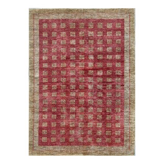 Herat Oriental Afghan Hand-knotted Tribal Vegetable Dye Gabbeh Wool Rug (6'3 x 8'8)
