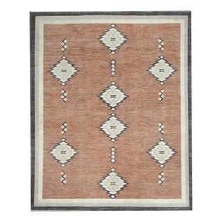 Herat Oriental Afghan Hand-knotted Tribal Vegetable Dye Gabbeh Wool Rug (8'3 x 9'11)