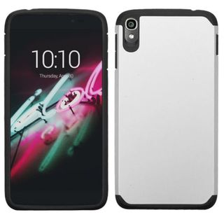 Insten Hard PC/ Soft Silicone Dual Layer Hybrid Rubberized Matte Phone Case Cover For Alcatel One Touch Idol 3 5.5