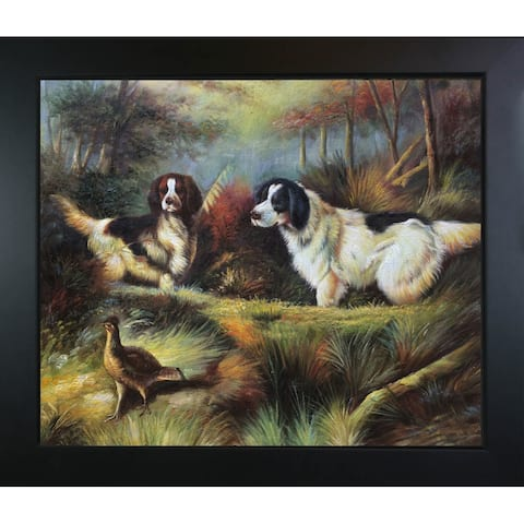 Arthur Fitzwilliam Tait 'October in the Forest' Hand Painted Framed Canvas Art