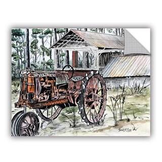 ArtAppealz Derek Mccrea 'Farm Tractor ' Removable Wall Art