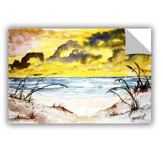 ArtAppealz Derek Mccrea 'Beach Sand Dunes' Removable Wall Art