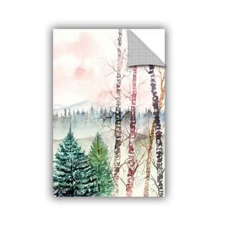 ArtAppealz Derek Mccrea 'Birch Tree' Removable Wall Art