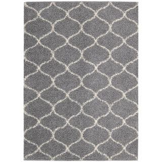 Nourison Windsor Silver Shag Area Rug (8'2 x 10')|https://ak1.ostkcdn.com/images/products/10363903/P17471470.jpg?impolicy=medium
