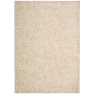 kathy ireland Hollywood Shimmer Aloha Paradise Cove Bisque Area Rug by Nourison (3'9 x 5'9)
