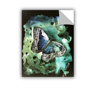 ArtAppealz Derek Mccrea 'Digital Monarch Butterfly' Removable Wall Art