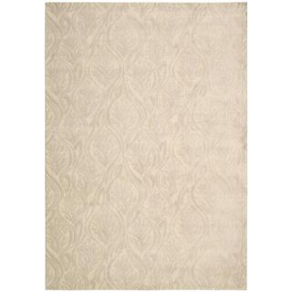 kathy ireland Hollywood Shimmer Aloha Paradise Cove Bisque Area Rug by Nourison (7'9 x 10'10)