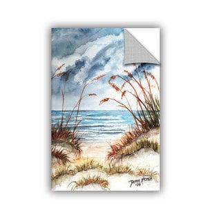 ArtAppealz Derek Mccrea 'Dunes 3' Removable Wall Art