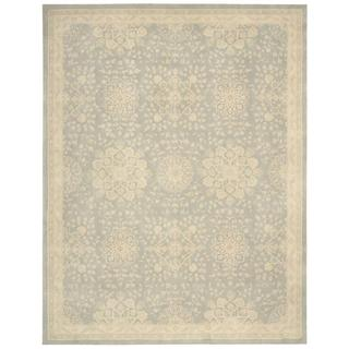 kathy ireland Royal Serenity St. James Cloud Area Rug by Nourison (5'6 x 7'5)