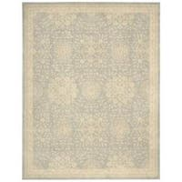 kathy ireland Royal Serenity St. James Cloud Area Rug by Nourison - 5'6 x 7'5