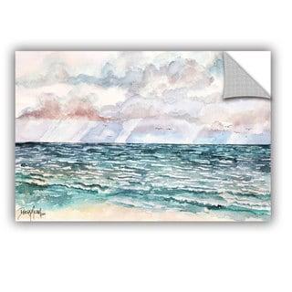 ArtAppealz Derek Mccrea 'Lavender Seascape' Removable Wall Art