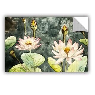 ArtAppealz Derek Mccrea 'Lotus' Removable Wall Art