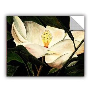 ArtAppealz Derek Mccrea 'Magnolia Flower 2' Removable Wall Art