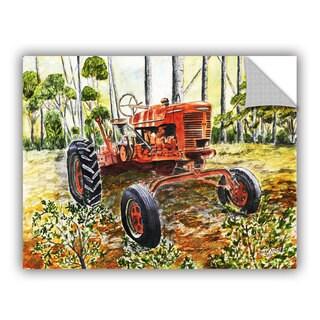 ArtAppealz Derek Mccrea 'Old Tractor' Removable Wall Art