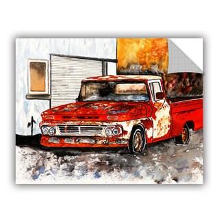 ArtAppealz Derek Mccrea 'Old Truck' Removable Wall Art