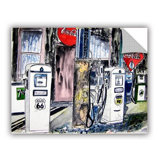 ArtAppealz Derek Mccrea 'Route 66 Gas Station' Removable Wall Art