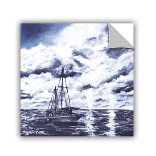 ArtAppealz Derek Mccrea 'Sailboat Oil Painting' Removable Wall Art