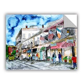 ArtAppealz Derek Mccrea 'Savannah River Street' Removable Wall Art