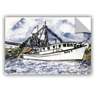 ArtAppealz Derek Mccrea 'Shrimp Boat' Removable Wall Art