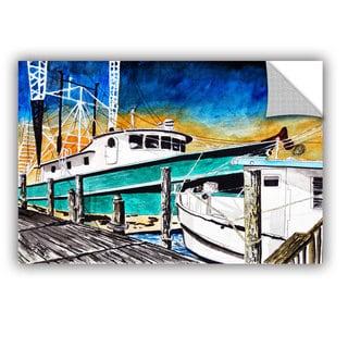 ArtAppealz Derek Mccrea 'Shrimp Boats' Removable Wall Art