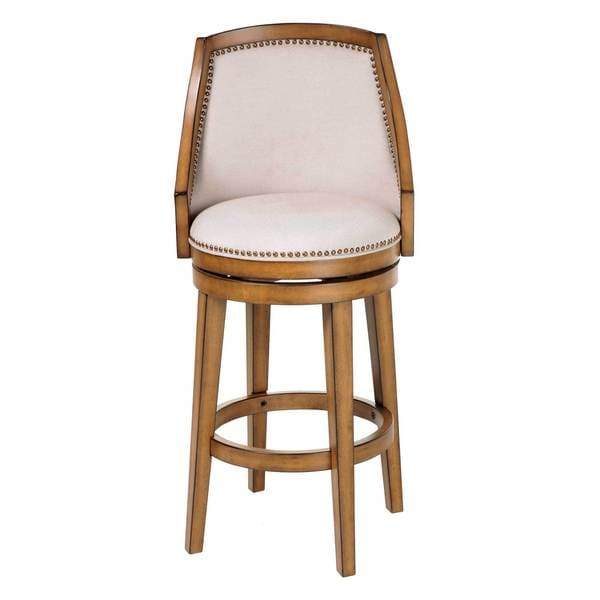 Fashion Bed Group C1x100 Charleston Wood Bar Stool Acorn