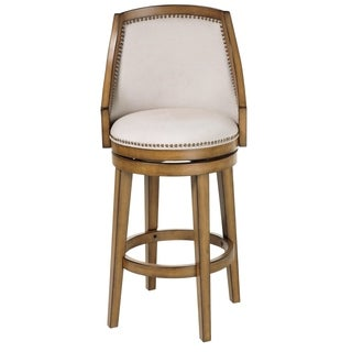 Fashion Bed Group C1X100 Charleston Wood Bar Stool Acorn Finish