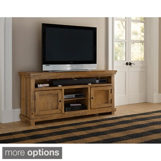 Willow Distressed Solid Pine Entertainment Collection