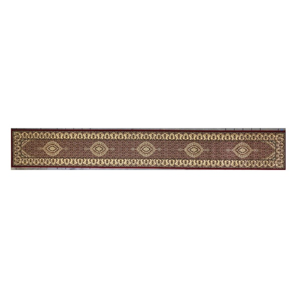 Linon Persian Treasures Mahi Tabriz Red Oriental Polypropylene Stair Runner Rug (2'3-inch x 16') - 2'3 x 16'