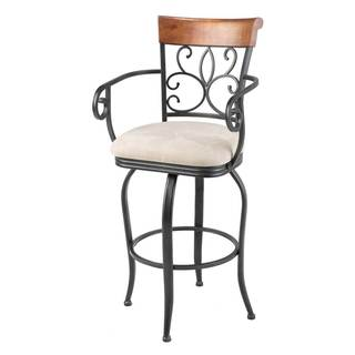 Fashion Bed Group C1X06 Hartford Metal Bar & Counter Stool Roast Finish