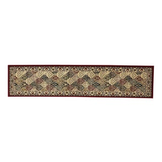 Linon Persian Treasures Kerman Multicolor Oriental Polypropylene Stair Runner Rug (2'3-inch x 16'