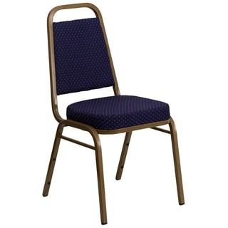 Daffo Blue Upholstered Stack Dining Chairs