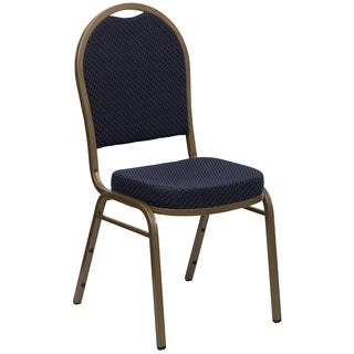 Jacar Blue Upholstered Stack Chairs