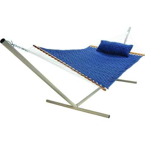 Blue Large Soft Weave Hammock