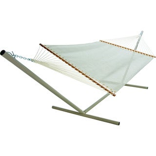Large Linen Textilene Pool Side Hammock