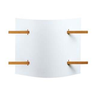 Justice Design Group Domus 1-light Wall Sconce, Translucent Shade