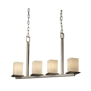 Justice Design Group Fusion 4-light Montana Bar Chandelier