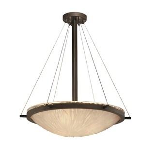 Justice Design Group Veneto Luce 6-light Ring 24 inch Pendant Bowl
