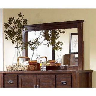 Trestlewood Solid Pine Wood Bedroom Mirror